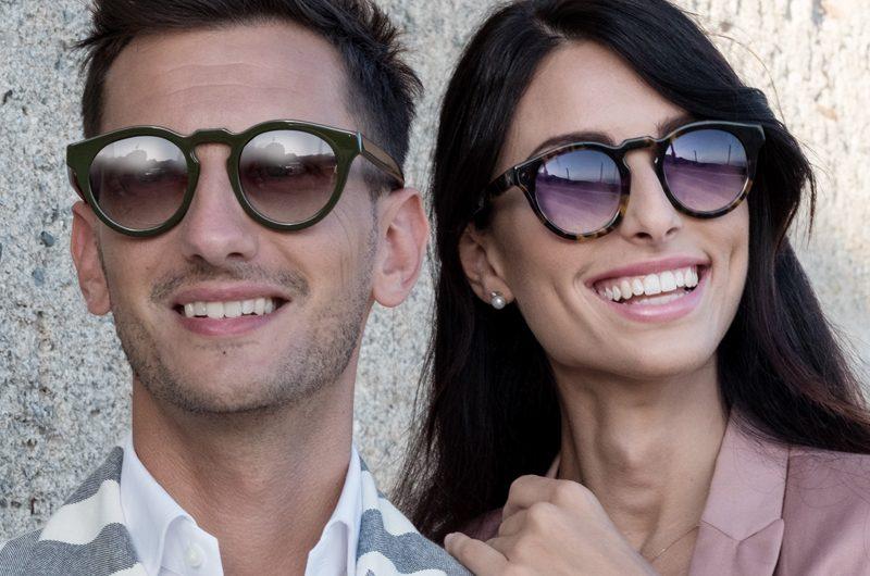 Foto modelli con occhiali